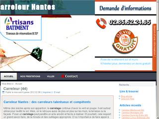 Artisan carreleur Nantes