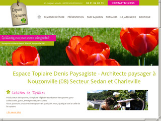 Paysagiste : Espace Topiaires à Nouzonville (08)