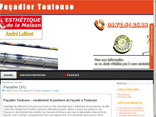Travaux de ravalement Toulouse