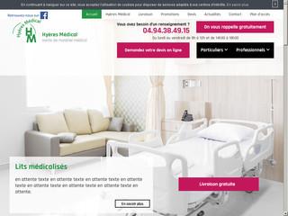 Hyères Médical - vente et location de matériel médicalisé dans le Var