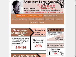 Ouverture de porte La Celle-Saint-Cloud
