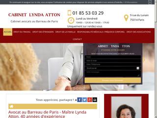 Avocat en licenciement à Paris: Maître Lynda Atton