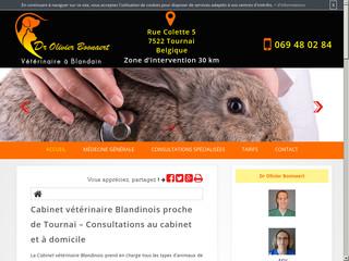 Vétérinaire à Blandain: Dr Olivier Boonaert