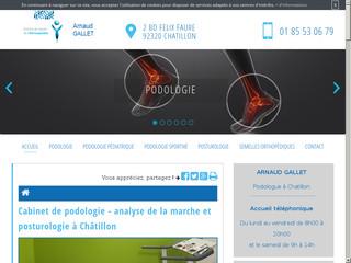 Des pathologies en podologie à Châtillon