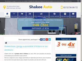 Garage d'automobile à Orléans