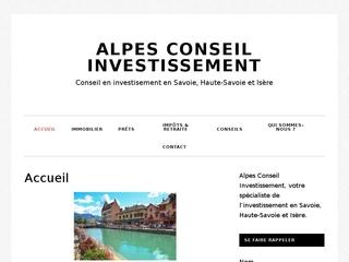 Alpes Conseil Investissement