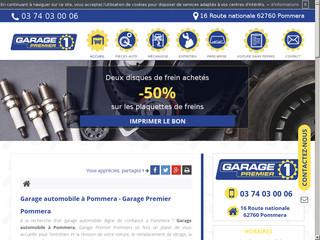 Votre garage d'automobile à Pommera