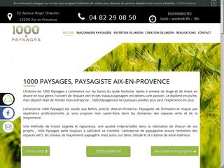 Entretien des espaces verts à Aix-en-Provence