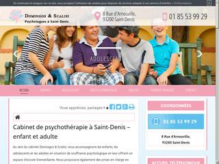 Psychothérapie pour adulte à Saint-Denis
