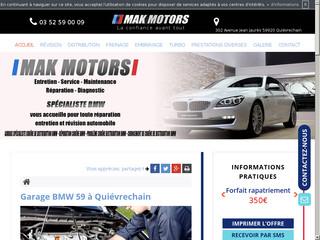 Spécialisée dans l'entretien auto de la marque BMW dans le 59