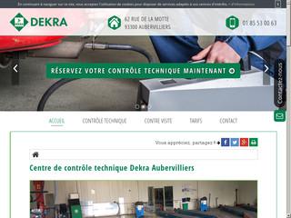 Centre de contrôle technique à Aubervilliers