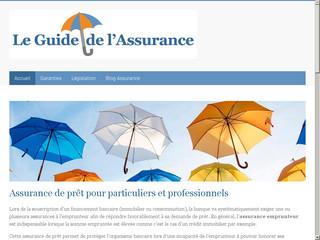 Le guide de l'assurance emprunteur