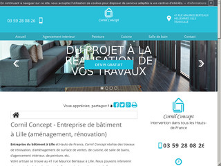 Agencement d'intérieur à Lille: Cornil Concept