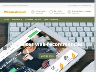 Webmasteure, annuaire et informations site web