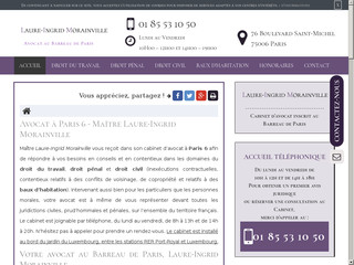 Avocat en droit pénal à Paris, Laure-Ingrid Morainville