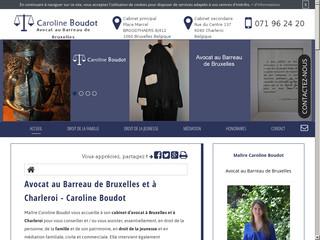 Avocat divorce à Bruxelles: Caroline Boudot