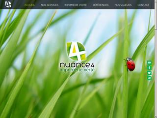 Nuance 4, imprimerie verte à Namur
