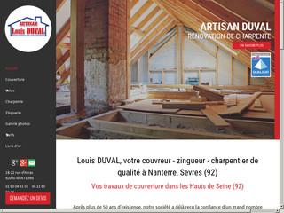 Couverture : Artisan DUVAL à Nanterre (92)