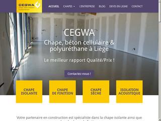 Cegwa, spécialiste de la chape à Liège