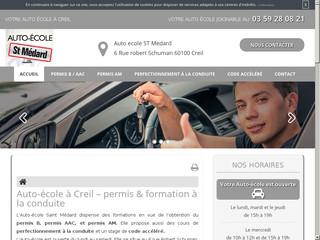Cours de code accéléré à l'Auto-école Saint-Médard