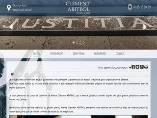 Votre avocat Maître Clément ABITBOL à Saint-Mandé