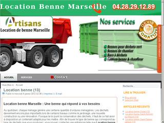Location benne et camion-benne Marseille