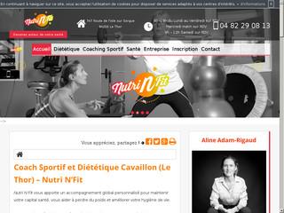 Diététicien et nutritionniste à Cavaillon, Nutri N'Fit