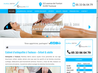 Ostéopathe pour nourrisson à Toulouse