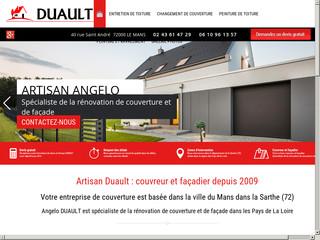 Couverture : Artisan DUAULT à Le Mans (72)