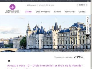 Avocat en droit immobilier à Paris 12, Maître Ilanit Sagand Nahum