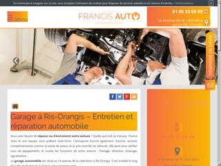 Réparation automobile à Francis Auto, Garage à Ris-Orangis
