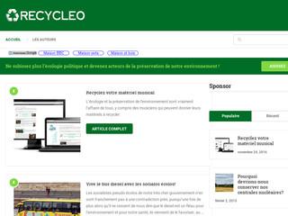 Blog recycleo
