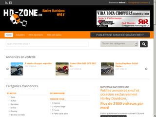Harley-Davidson: portail d'annonces (Suisse)