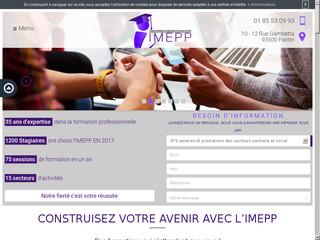 Formation aide soignante à Paris, IMEPP
