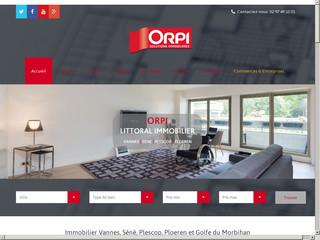 ORPI Littoral Immobilier | Achetez ou vendez avec votre agence ORPI dans le Morbihan Sud
