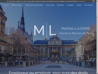 Avocat droit social, de la sécurité sociale Paris 16 – Maître Lajoinie