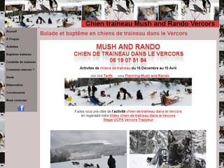 Chiens de Traineaux dans le Vercors: Mush and Rando