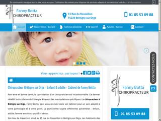 Cabinet de chiropracteur Fanny Botta à Brétigny-sur-Orge