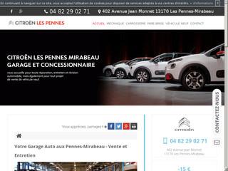 Garage et concessionnaire Citroën Les Pennes-Mirabeau