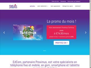 EdCom : Bureau Proximus à Huy