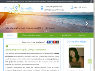 Hypnose analgésique et médicale  à Carnoux-en-Provence, Claire Miraillès,