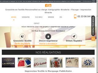 Impression textile à Bordeaux : CFM impression
