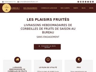 Livraison fruits entreprise à paris