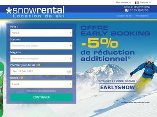 Snowrental location de skis et snowboards à prix discount