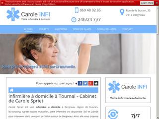 Soins infirmiers à domicile, Carole Spriet