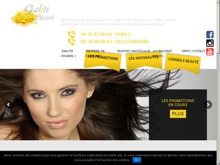 déstockage cosmétique et matériels de coiffure - galite beauté