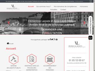 Avocats en droit administratif à Paris, Maître Vojique & Lacoste