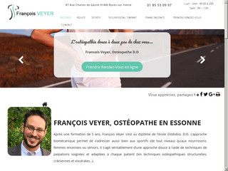 Ostéopathe Bures-sur-Yvette, François Veyer