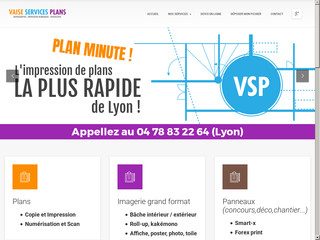 Vaise Services Plans VSP Imprimerie Lyon Photocopies