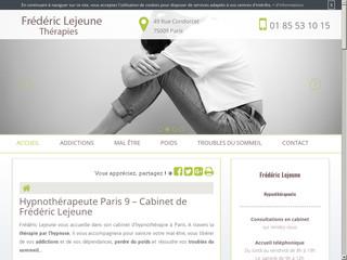 Hypnose à Paris 9, Frédéric Lejeune